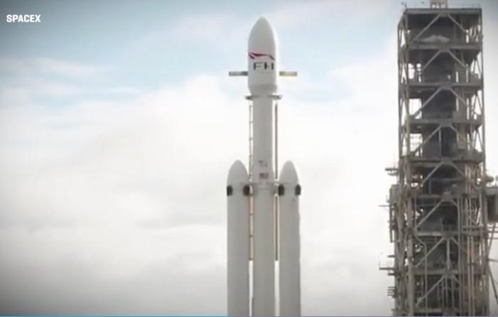 foto Falcon Heavy