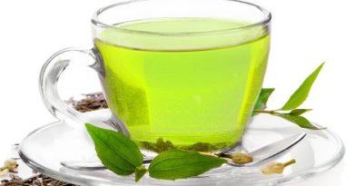 foto zeleniy chay ot ekzemi
