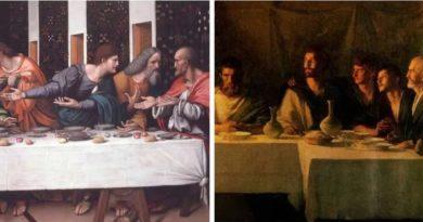 загадки тайная вечеря