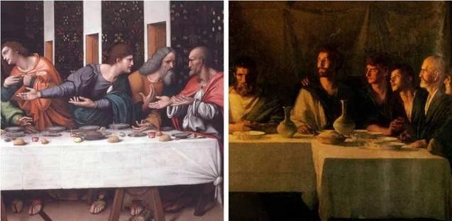 апостолы в тайной вечере