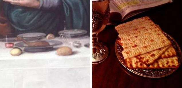 хлеб в тайной вечере