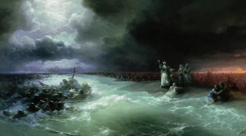 Моисей и Красное море