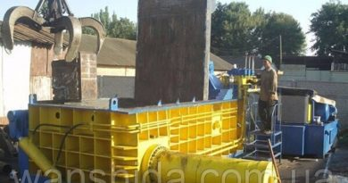 Hydraulic balers for scrap